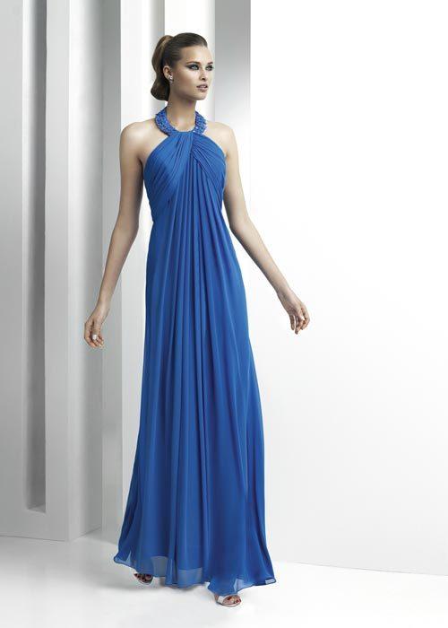 Moda de fiesta Navidad 2011, 20 vestidos de fiesta de color