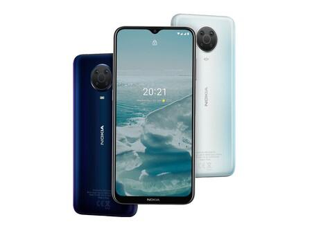 Nokia G20 llega a México: Android One con dos actualizaciones de Android para la gama media, este es su precio