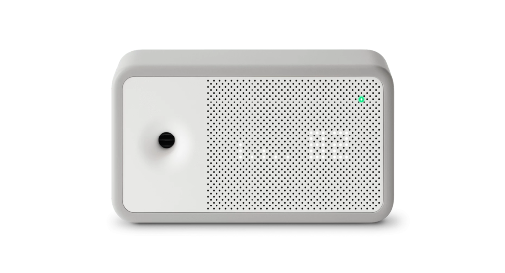 Awair Element: este pequeño gadget se conecta a la red Wi-Fi y nos informa sobre la calidad del aire que respiramos en casa