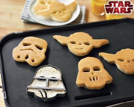 Moldes para galletas con formas de Star Wars