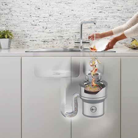 Tecnología en la cocina; los trituradores de comida son  ecológicos y una apuesta segura contra los olores