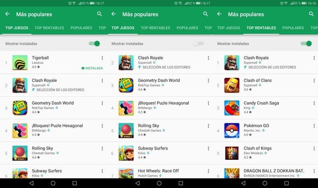 Apps Instaladas Gp