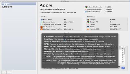 Aplicaciones orientadas al SEO desde la AppStore