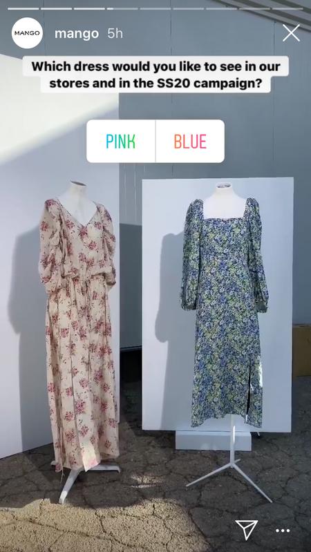 Mango pide consejo a sus seguidores de Instagram para crear la próxima colección Primavera-Verano 2020