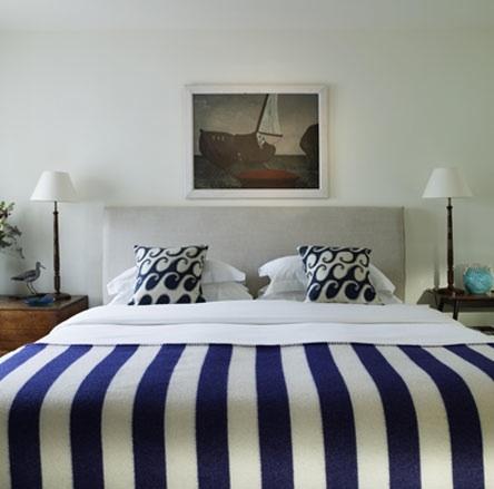 Un dormitorio marinero en cinco pasos
