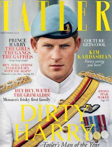 De Harry el fiestas, a Harry el nombre del año... ¡qué versatilidad la del Príncipe Enrique!