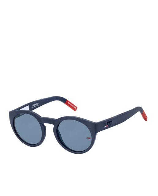 Gafas de sol unisex Tommy Jeans redondas en azul marino