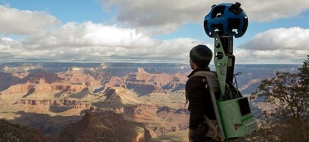 Date un paseo por el Gran Cañón con Google Maps