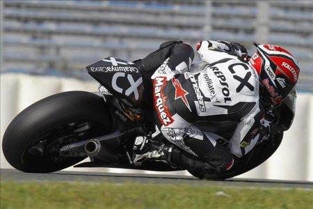 Marc Márquez, estrenando ya la Moto2
