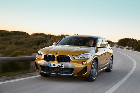 BMW X2 en marcha
