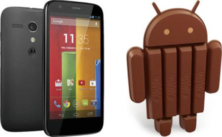 Moto G comienza a recibir Android 4.4.2 en España