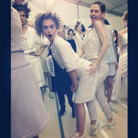 Chanel Cara Delevingne