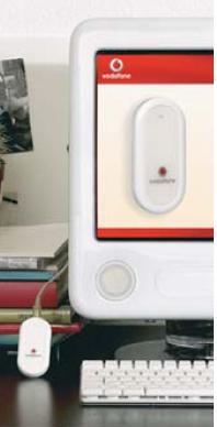 eMac en la campaña publicitaria del nuevo modem de Vodafone