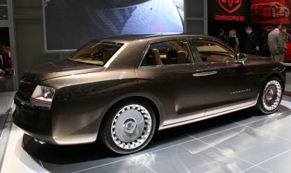 Presentación Chrysler Imperial Concept en el salón de Ginebra