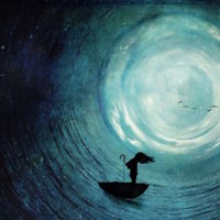 Esta artista crea alucinantes obras sólo con la ayuda de un iPhone y sus dos hijos