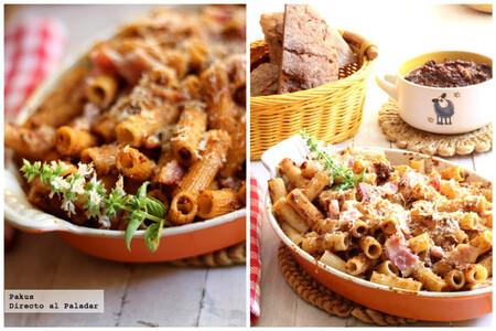 Macarrones sicilianos al pesto rojo, receta  sencilla (y deliciosa) de pasta italiana