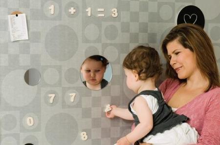 Papeles pintados magnéticos para la habitación infantil