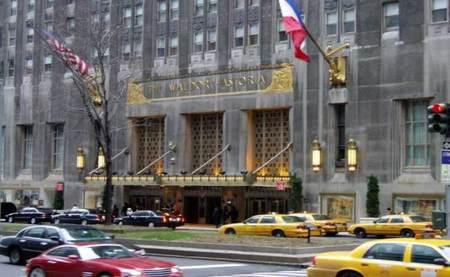 El Hotel Waldorf Astoria de Nueva York, apuesta por la apicultura urbana