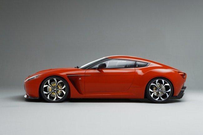 Aston Martin V12 Zagato perfil