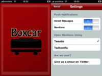 Boxcar, notificaciones push en el iPhone para Twitter