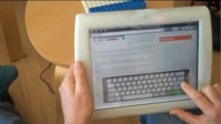 CrunchPad, el Web Tablet de TechCrunch