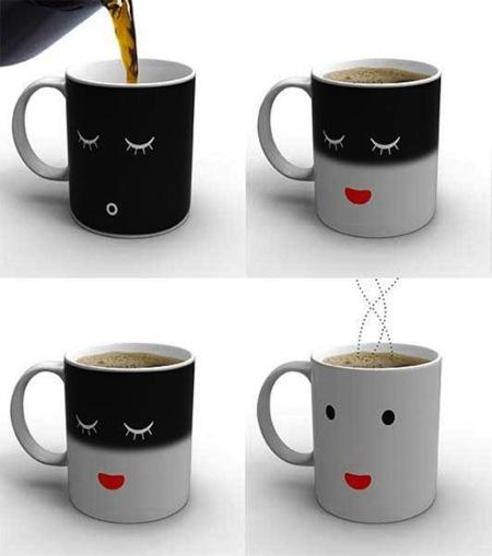 Morning Mug, una taza que se despierta con el primer café del día