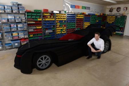 Lego Batmobile By Nathan Sawaya 1