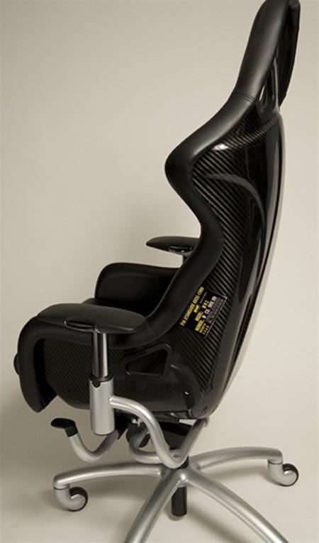 Las sillas de oficina que todo aficionado al motor querr a for Amueblar casa completa