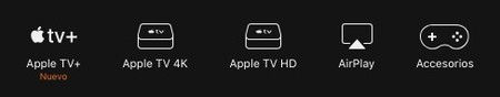 Gama Apple Tv