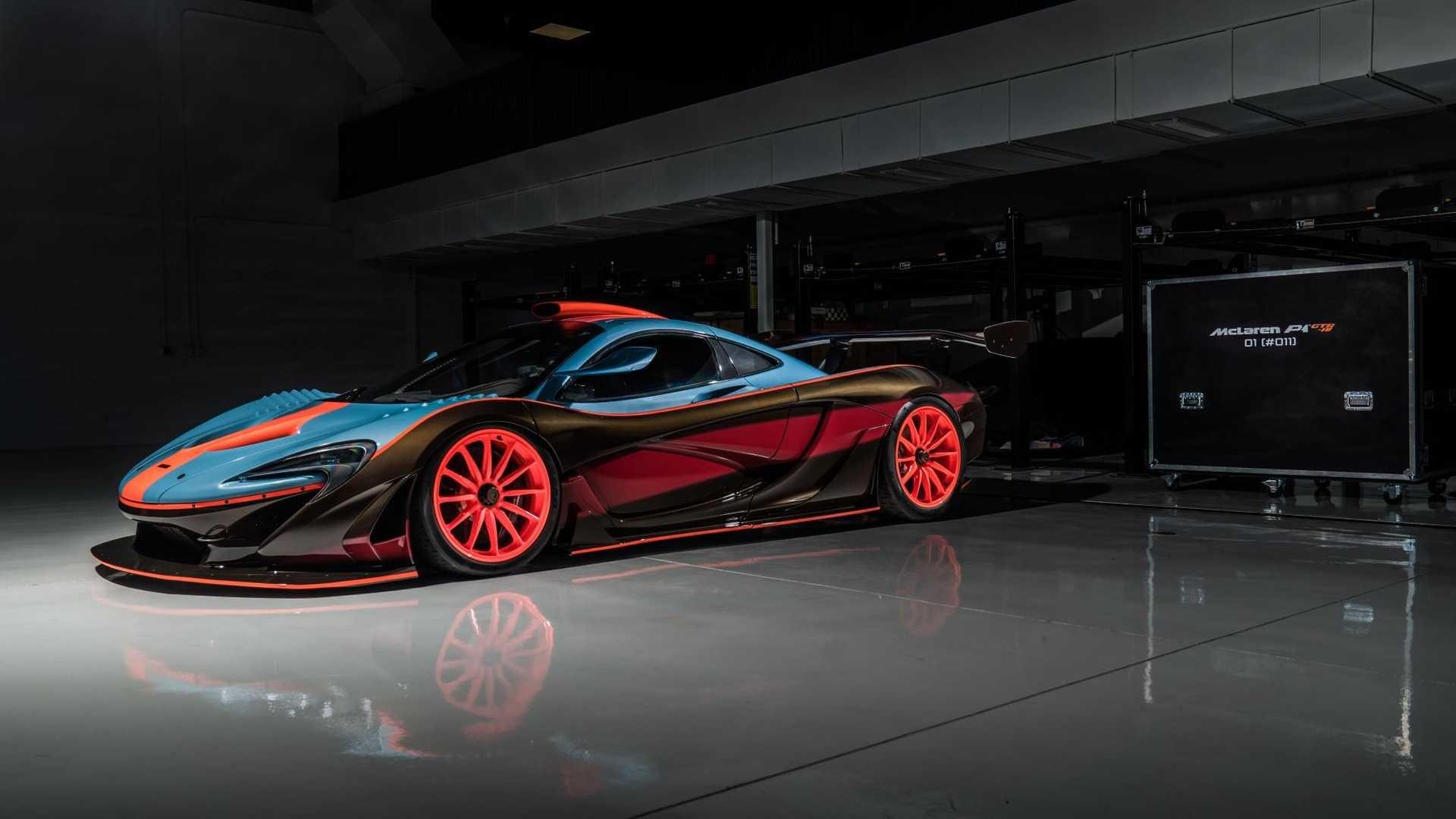 Foto de McLaren P1 GTR-18 preparado por Lanzante (25/32)