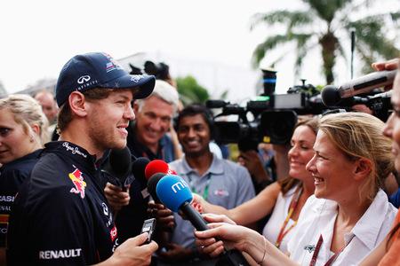 Sebastian Vettel pide más tiempo para el Red Bull RB8