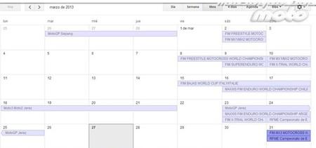 Calendario de competiciones internacional y nacional, 29 al 31 de marzo