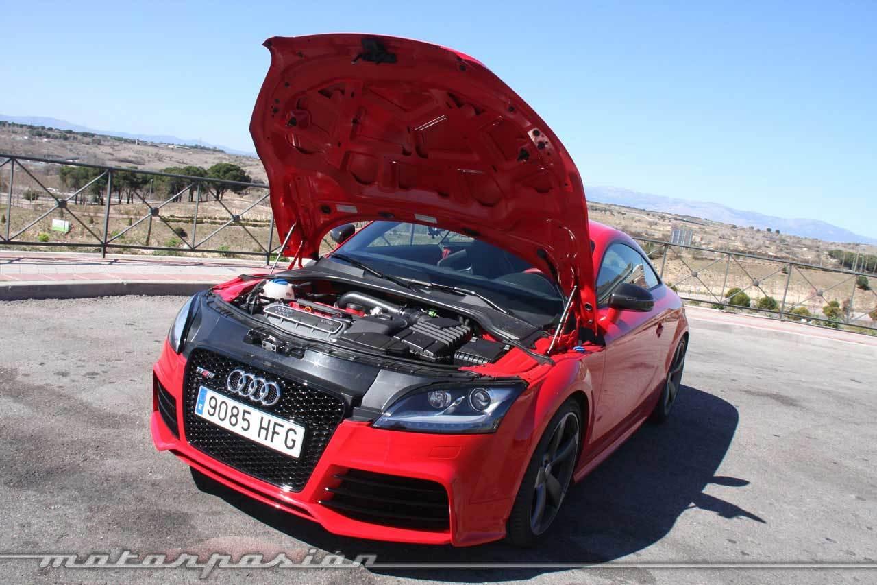 Audi TT RS S-Tronic (miniprueba)