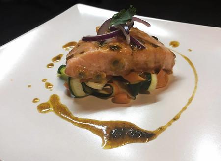 Salmon Maracuya