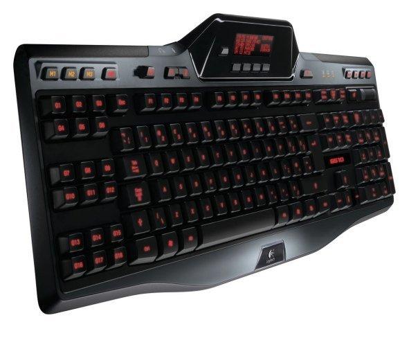 teclado para jugadores Logitech G510