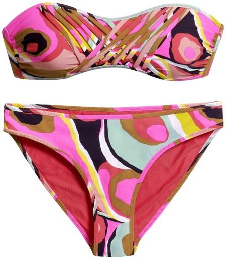 bikini estampado H&M