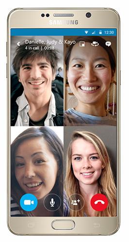 Skype para Android permitirá hacer videollamadas en grupo muy pronto