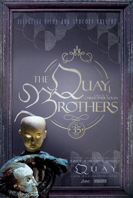 Cartel del homenaje a los hermanos Quay