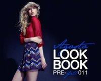 Stradivarius lookbook Otoño-Invierno 2011/2012: en rojo y azul