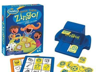 Zingo Bilingüe, el juego de mesa nominado a los premios TOTY, para niños pre-lectores y primeros lectores por sólo 19,71 €