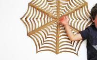 Hazlo tú mismo: telas de araña de origami para decorar en Halloween
