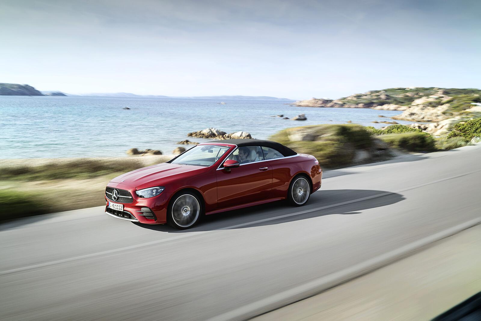 Mercedes-Benz Clase E Cabrio y Coupé 2020, precios