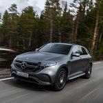 El Mercedes EQC suena casi como un coche de motor a combustión interna a pesar de ser un coche eléctrico