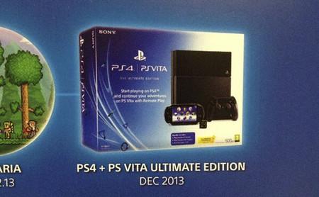 Sony confirma el pack de PS4 más PS Vita