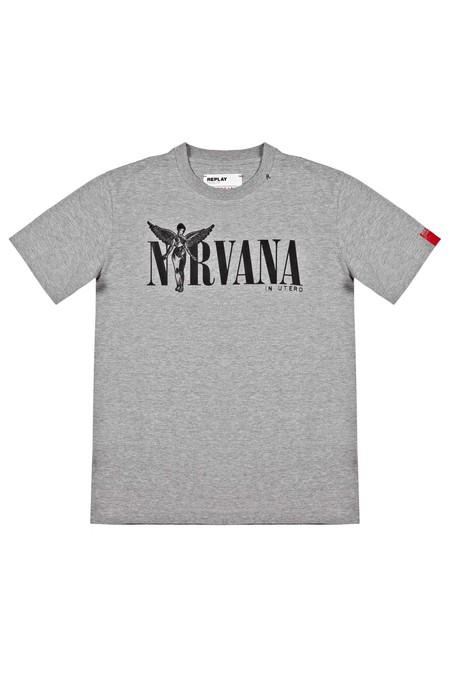Replay Trae De Regreso El Grunge Con Una Linea De Camisetas En Homenaje A Nirvana Para Otono 3
