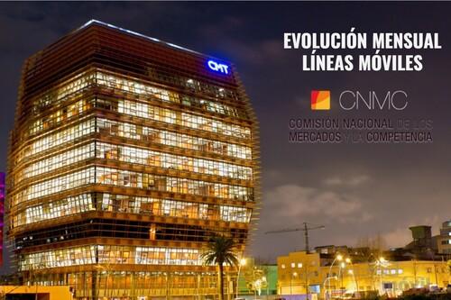 Ganancia histórica de líneas móviles de Digi y otros OMVs independientes en junio: Movistar, Vodafone y Orange vuelven a perder