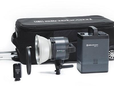 Elinchrom ELB 1200, el generador portátil para flash diseñado para fotógrafos aventureros