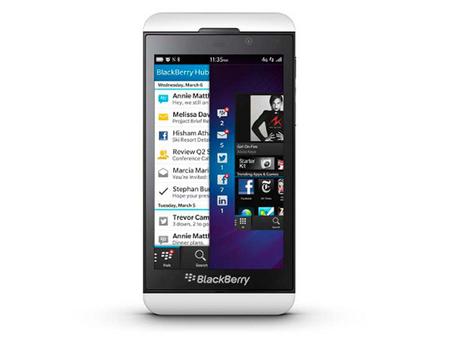 ¿Tienes pensado comprar el BlackBerry Z10? La pregunta de la semana