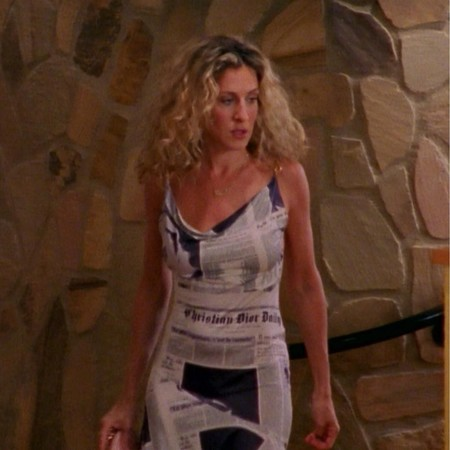 Carrie Bradshaw Dior Dress