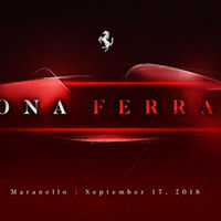 Este teaser confirma que un nuevo y misterioso Ferrari se estrenará en septiembre
